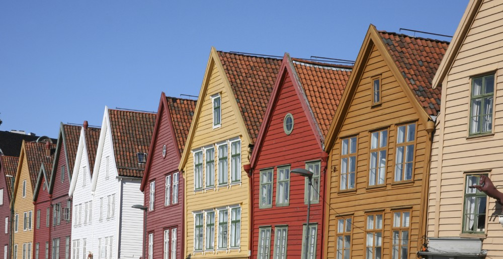 Bryggen i Bergen. Foto: Istock