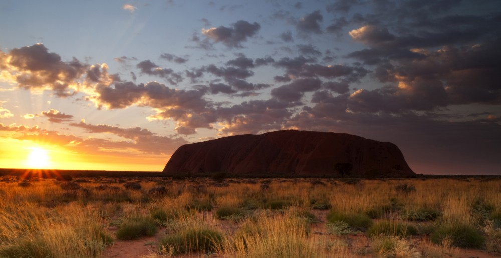 Uluru, Australia.