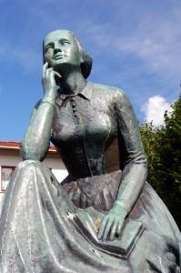 Camilla Collett var en de fremste forskjemperne for kvinners stemmerett. Foto: Samfoto
