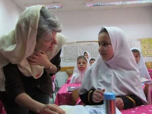 Generaldirektør Bokova på klassebesøk