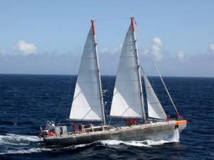 Båten Tara. Foto: UNESCO